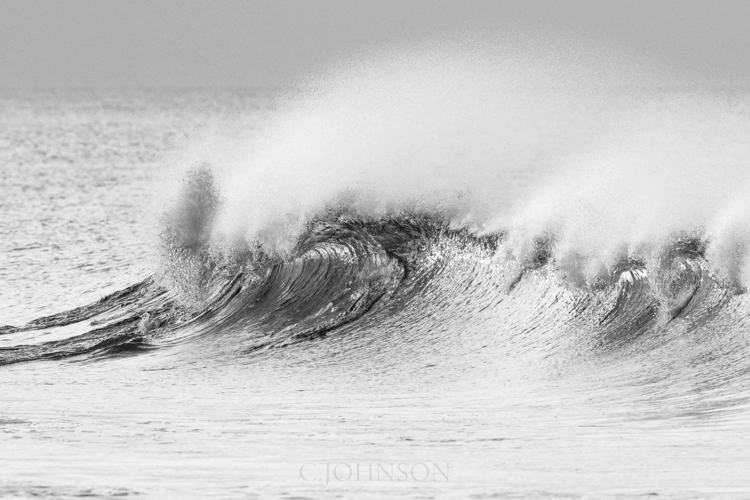 Cape cod surf waves